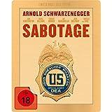 Sabotage Gold Edition Steelbook Blu-Ray, Media-Markt Exklusive,