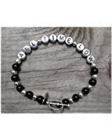 """HAND MADE ROCK STAR BRACELET """" ALL TIME LOW """""""