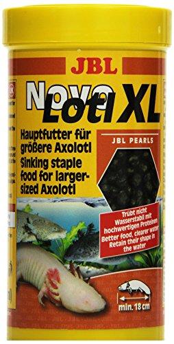 JBL Alleinfutter für große Axolotl, Perlen 250 ml, NovoLotl XL 30358