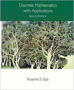 Discrete Mathematics With Applications: Susanna S. Epp: 9780534944469