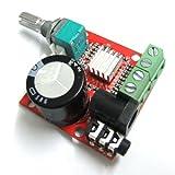DEOK Mini DC 12V Digital Audio Amplifier 10W+10W 2 Channel Amplifier Class D