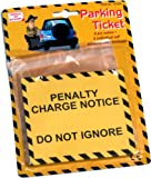 Discovery Store 6 Fake Parking Tickets Practical Joke [Toy]