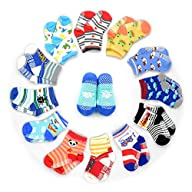 HOVEOX 12 Pairs Kids Baby Toddler Soc…