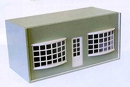 Maison de poupées plat paquet chambre BOÎTE AVEC SEGMENTS FENÊTRES & porte pour 1:12 miniatures