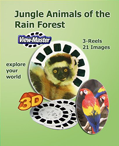 ViewMaster – Jungle Animals of the Rain Forest 3 Reels