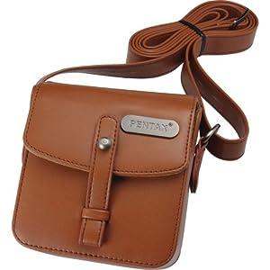 Pentax Q Vintage Leatherette Shoulder Bag (Brown) 9