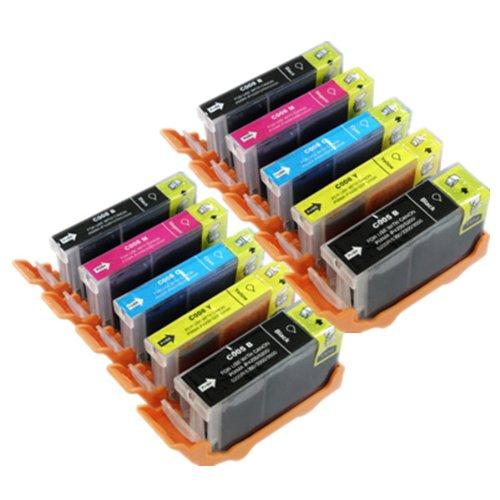 10 Canon PGI-550 / CLI-551 Kompatibel Tintenpatronen für Canon Pixma iP7250 iP8750 iX6850 MG5450 MG5550 MG6350 MG6450 MG7150 MX725 MX925 Drucker
