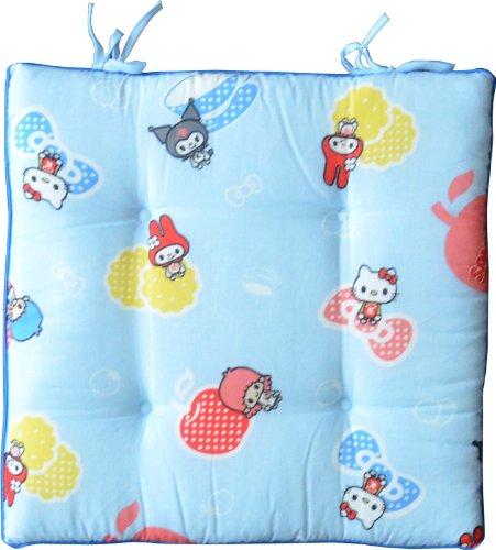 Hello Kitty seat cushion cushion chairmat chairs 45 x 45 cm Blue
