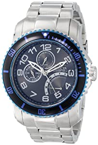 Invicta Mens 15339 Pro Diver Black Dial Stainless Steel Watch