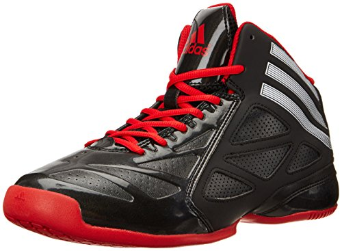Adidas Performance Men'S Nxt Lvl Spd 2 Basketball Shoe, Core Black/Ftwwht/Scarle, 10.5 D Us front-207702