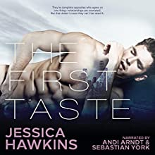 The First Taste Audiobook by Jessica Hawkins Narrated by Andi Arndt, Sebastian York