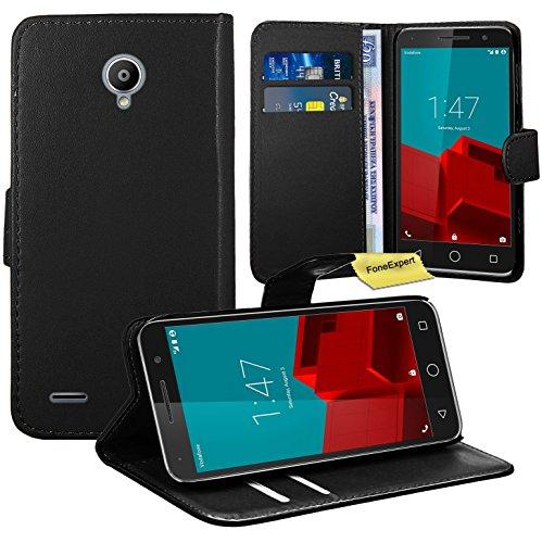 vodafone-smart-prime-6-funda-foneexpertr-wallet-flip-billetera-carcasa-caso-cover-case-funda-de-cuer