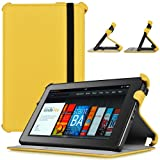 CaseCrown Ace Flip Case (Scorching Yellow) for Amazon Kindle Fire