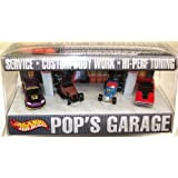 Hot Wheels Pop's Garage vehicles