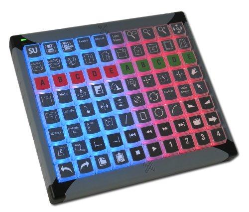 X-Keys Usb Programmable Keyboard With 80 Keys