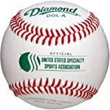 Diamond Usssa Dol-A Leather Baseballs 1 Dozen