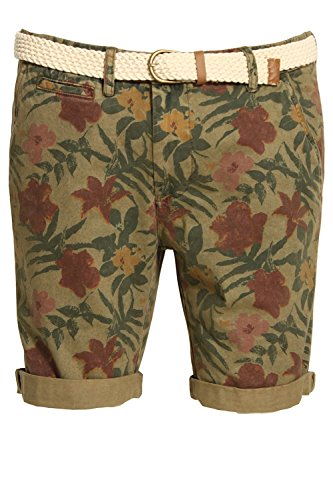 bellfield-bulmer-overdye-floral-print-shorts-khaki-xlarge-36-waist