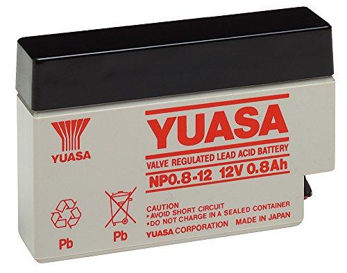Batterie ploMB yuasa) yuasa nP0. (8-12: jST connector)