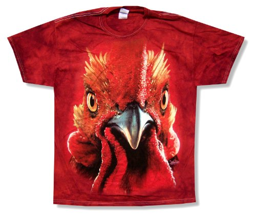 The Mountain Men's Rooster Tie Dye T-Shirt