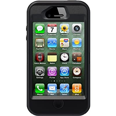 Otterbox Apple iPhone 4 / 4s Defender Case - Black by OtterBox