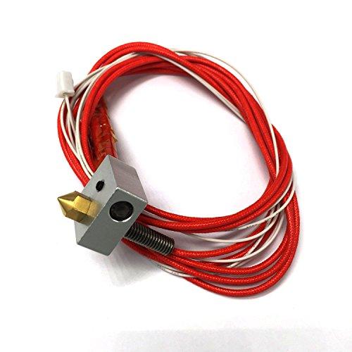 Stampante 3D Hot End assemblato estrusore Kit Hictop parti accessorie 1,75 millimetri 0,4 millimetri ugello filamento con alimentazione diretta a 12V