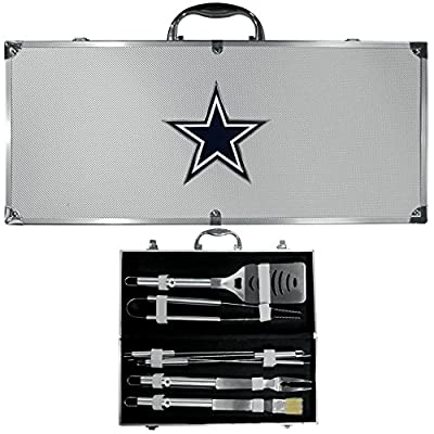 Dallas Cowboys Nfl 8pc Bbq Tools Set