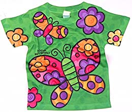 Girls Toddler Butterfly Tee Shirt