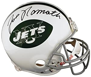 Joe Namath Signed Autographed New York Jets Authentic Full-Size Helmet by Insider Sports Deals