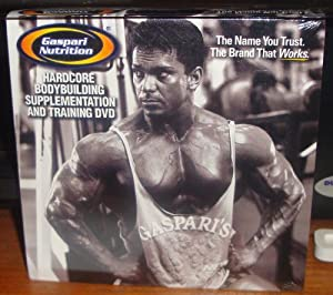 Gaspari Nutrition Hardcore Bodybuilding Supplementation and Training DVD