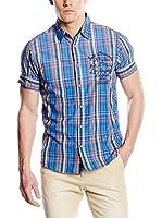Scotch & Soda Camisa Hombre (Azul / Rojo / Blanco)