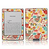 TaylorHe Colourful Decal Vinyl Skin for Amazon Kindle 4 Ultra-slim protection with pretty patterns MADE IN BRITAIN animals, cute, colorful