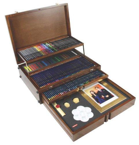 Derwent Majestic Wooden Box