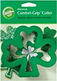 Wilton Shamrock Comfort-Grip Cookie Cutter