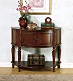 Coaster Storage Entry Way Console Table/Hall Table, Brown Finish thumbnail