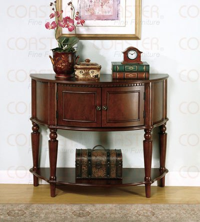 Cheap Coaster Storage Entry Way Console Table/Hall Table, Brown Finish (B001EQOLT0)