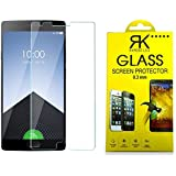 One Plus 3 Tempered Glass - Branded Tempered Glass Screen Protector For One Plus 3 (2.5D Smooth Edge Ultra Clear)
