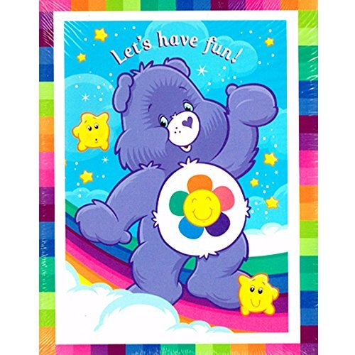 Care Bears Invitations and Thank You Notes w/ Envelopes (8ct) (Care Bears Invitations compare prices)