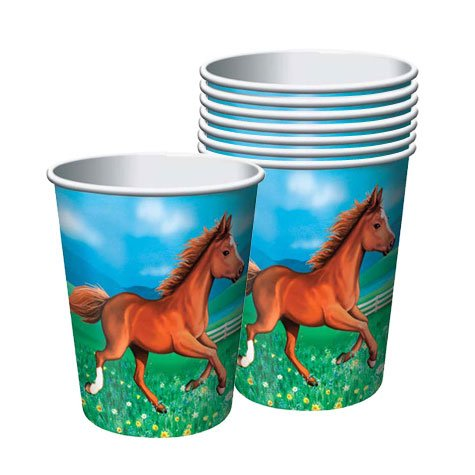 My Horse Cups 8ct