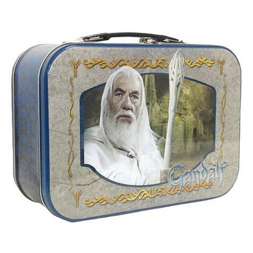 4 x 10 Inch Lord of The Rings The Wise Gandalf Multi-Colored Tin tote
