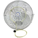 Misting Fan Kit- For Outdoor Cooling- Attach to Any Fan- Turn Your Ordinary Outdoor Fan to Misting Fan- 5 Minutes Installation-brass/stainless Steel Nozzle