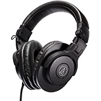 Audio-Technica ATH-M30x On-Ear 3.5mm Wired Professional Headphones