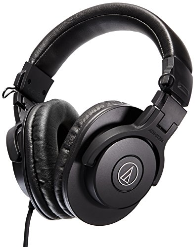 Audio-Technica-ATH-M30x-Professional-Studio-Monitor-Headphones