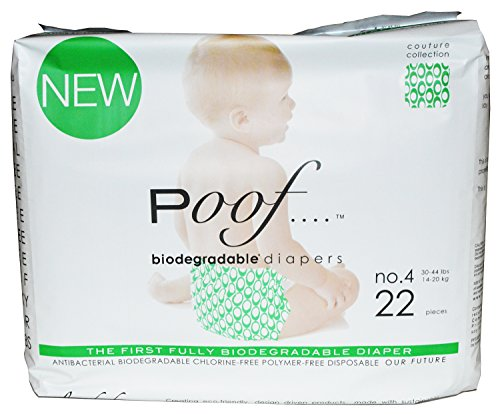 Poof Diapers - Loops - Size 4 - 22 ct