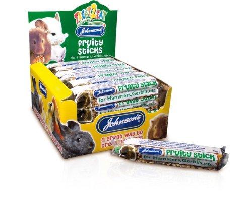 Johnsons Fruity Sticks For Hamsters, Gerbils Etc. X 3 Bars front-1015267