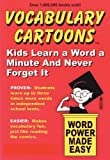 img - for Vocabulary Cartoons: Kids Learn a Word a Minute and Never Forget It. book / textbook / text book