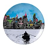 Royal Doulton Nick Walker Plate, 10.75-Inch, Ed New York Limited Edition