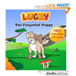 Children's Book: Lucky The Forgetful Puppy (Colorful Children's Books Collection, Beginner Readers eBook Series for age 2-6)