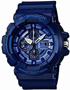Casio G-SHOCK Blue and Red Series Men Watch GAC100AC-2A LIMITED EDITION