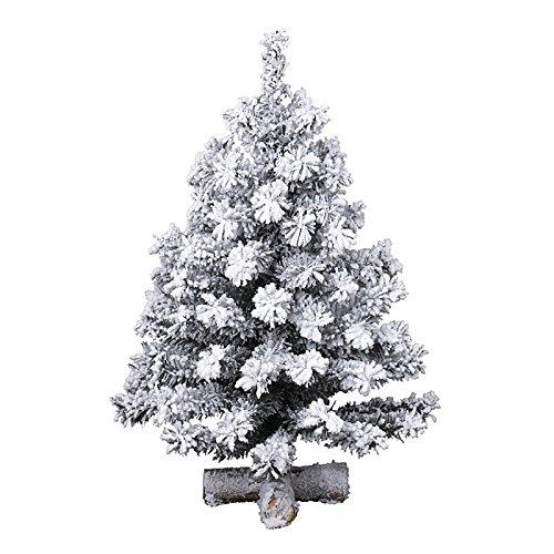 Kaemingk 683638 Snowy Toronto Minibaum, Soft Nadel PVC, innen, Höhe 60 thumbnail