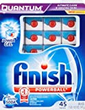 Finish Quantum Dishwasher Detergent with Baking Soda, 45 Count